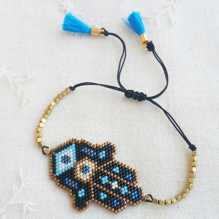#atolye_ekim #miyukibracelets #miyukibileklik #handmade #miyukijewelry #miyukihamsabracelet #miyukifatmaanaelibileklik #vscodaily #vscopgile #brickstitch #vscogood#instagood #instadaily #dailygood #dailygram #photooftheday #