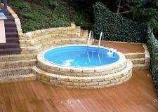 die besten 25 stahlwandpool rund ideen auf pinterest pool rund pool selber bauen und traum pools. Black Bedroom Furniture Sets. Home Design Ideas