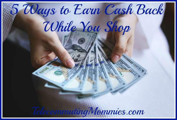 Find out 5 popular ways to earn cash back while you shop.