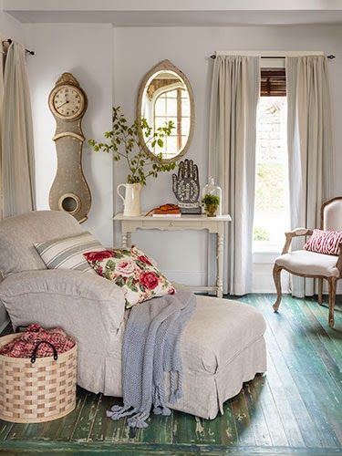 Rustic, Country-Chic Cottage | Stranger Than Vintage