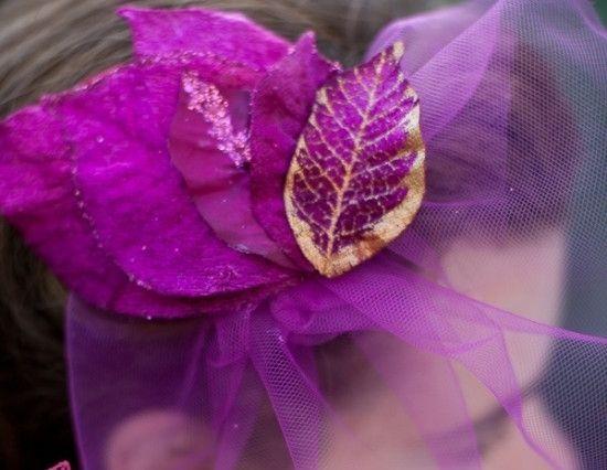 Glittery Leaves, so a ritual idea!