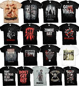 The Walking Dead t-shirt ZOMBIE WALKERS AMC SHOW DARYL DIXON Fan Official Shirts CHECK MY STORE FOR MORE WALKING DEAD T-SHIRTS & HOODIES Buy It Now $18.95
