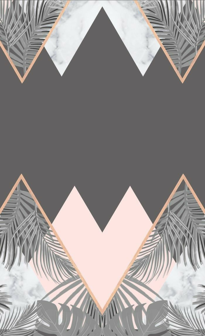 Nicole Chinnici Designer Adli Kullanicinin Peach Rose Gold Panosundaki Pin Iphone Arkaplanlari Geometric Patterns Baski