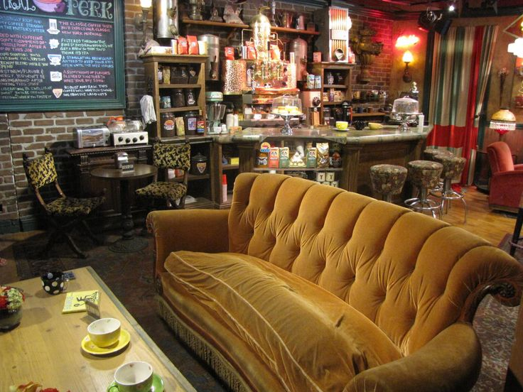 Central Perk. Now this is a coffee house I'd love to visit. Wish we had something like this locally.