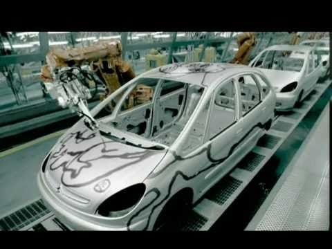 Friday Fun - ABB Robotics featured in the Citroen UK advert for the Citroen Picasso