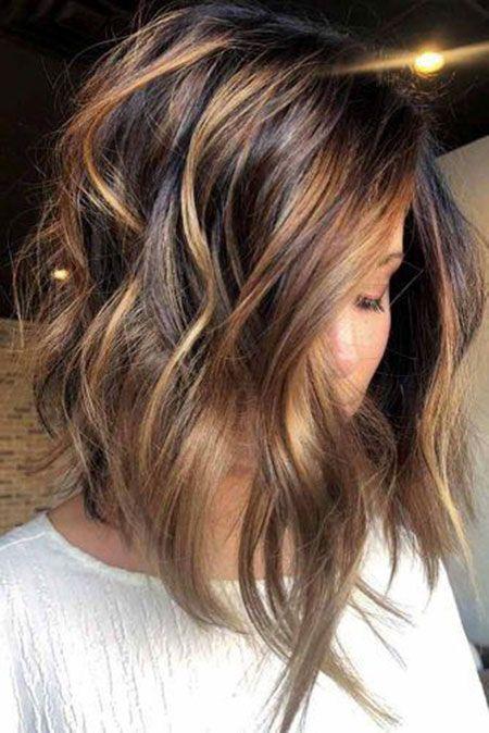 18 Caramel Ombre Kurzes Haar