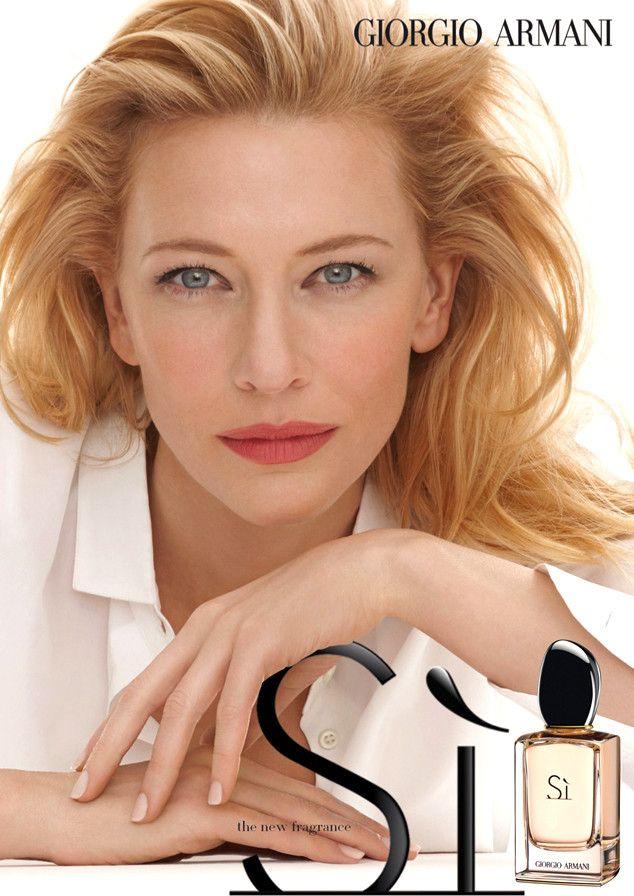 Cate Blanchett, Giorgio Armani Fragrance Ad, Si