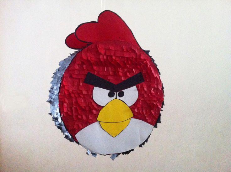 Piñatas que Ilusionan: Piñata Angry Birds