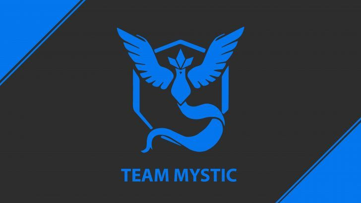 Download Pokemon Go Team Mystic Logo UHD 7680x4320