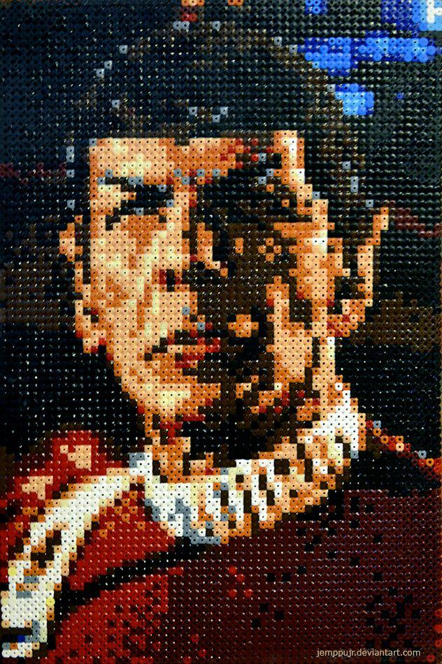 Spock HAMA by JemppuJr.deviantart.com on @DeviantArt