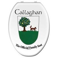 Personalize your bathroom with this customized Irish Coat of Arms Toilet Seat Cover! Available in over 140 family names, this cover is made of 100% washable cotton. A great gift item or something for your own home!