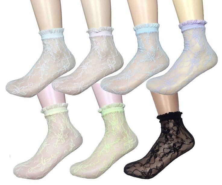 New Women Summer Mesh Lace Spandex Stocking Socks_7 options