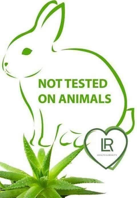Niet op dieren getest