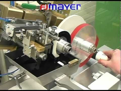 Rotary Double Color Pad printing Machine to print for 360 Degree Round Printing on Caps - YouTube