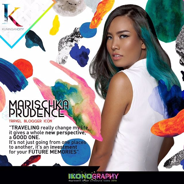 Marischka Prudence Travel Blogger icon  Ikonography 2016