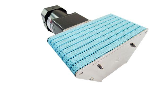 NEXUS mini transfer conveyor, motor of this type is external installed.