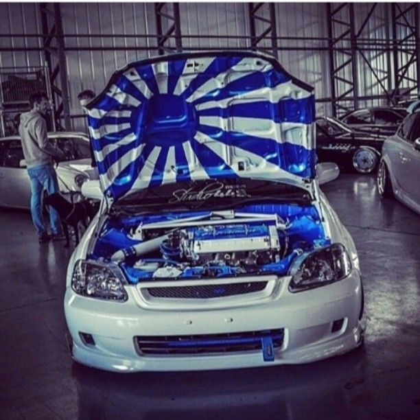 Instagram Post By Eduardoeg Honda Vtec Low Life And Evo - Custom under car hood