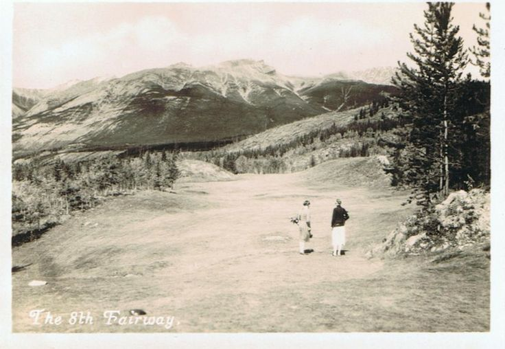 Jasper Park Lodge golf course - Hole # 8 - Tekarra's Cut