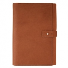 Labrador Leather Notepad Case $89.95 - A notepad, pencil case and card holder all in one.