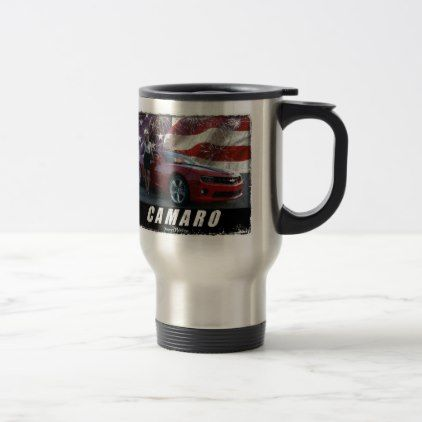 2010 Camaro SS Travel Mug - home gifts ideas decor special unique custom individual customized individualized