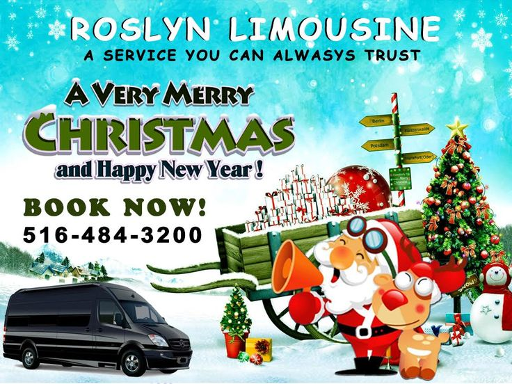 Happy Merry Christmas with Roslyn Limo: Enjoy Happy Merry Christmas by hiring Roslyn Limo. We are here to make this Christmas more memorable. Hire us for Merry Christmas. Call us at  866-513-3228 #limoserviceinlongisland #longislandlimoservice