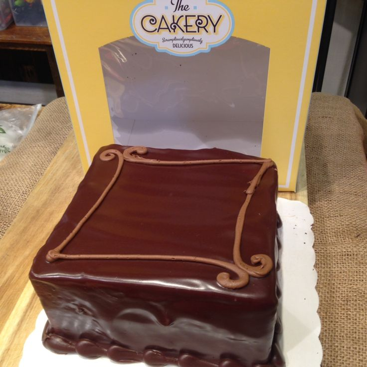 Chocolate Meltdown Cake from the Cakery at Lowes Foods.