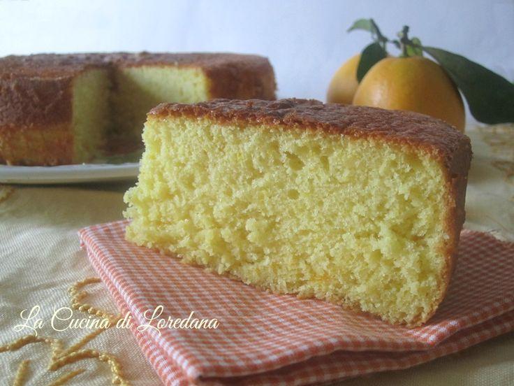 torta leggerissima alle arance