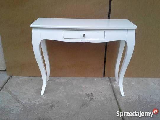 Konsola Classic III z szufladką stolik, toaletka, konsola, szafka, stylowa, glamour