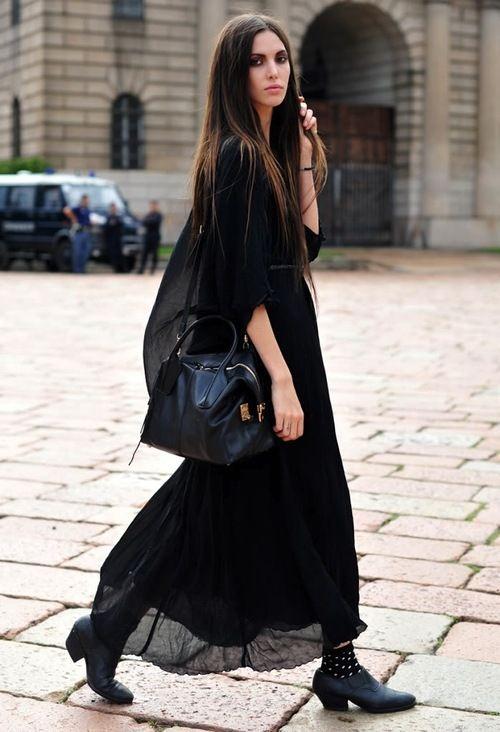 Look good in a maxi dress