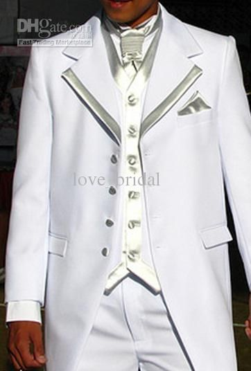 2012 Designer New White Men Dress Wedding Banquet Slim Suits Groom Marriage Suit Shops Online