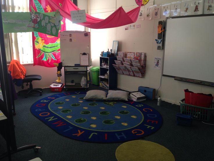 Teaching area. No more desk!
