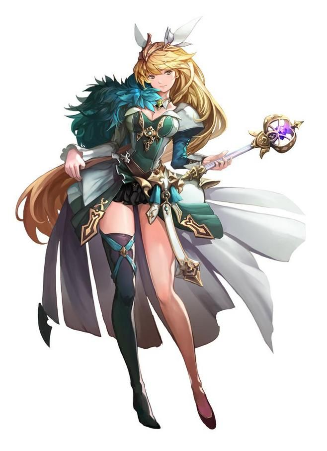 7 Witches Anime Characters : Wheilig采集到二次 图 花瓣动漫 rpg character design
