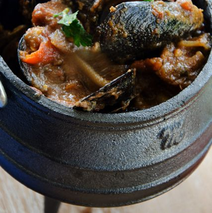 Chef's Kitchen Recipes - Spicy Seafood Potjie