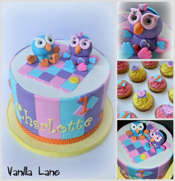 Hoot and Hootabelle cake -