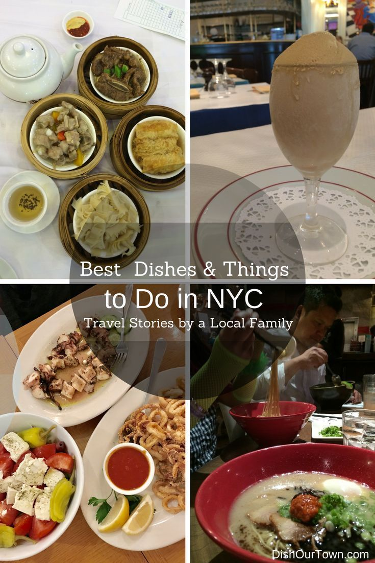 Local's Guide to the Best Dishes and things to do In NYC via @DishOurTown.