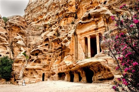 Little Petra  or Al-Beidha   Photo by Nora de Angelli -- National Geographic Your Shot