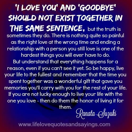 Quotes About Relationships And Time: 25+ Best Ending A Relationship Ideas On Pinterest