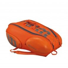 Wilson Vancouver Burn 15 pack tennistas orange grey #wilson #tennistas