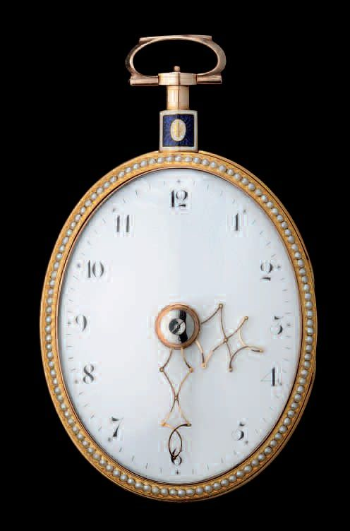 Vardon and Stedmann signed watch dating from 1800, which is now among the watchmaking treasures of the FEMS.