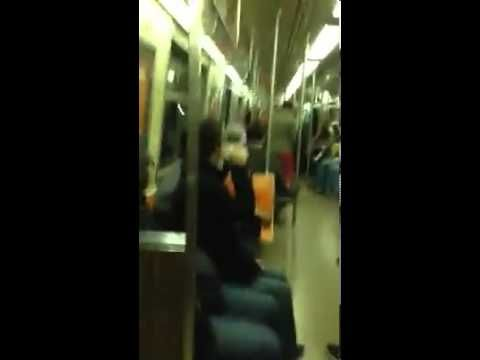 Because some people just do stuff to make others smile and those people are the best people. SAX BATTLE IN NYC SUBWAY