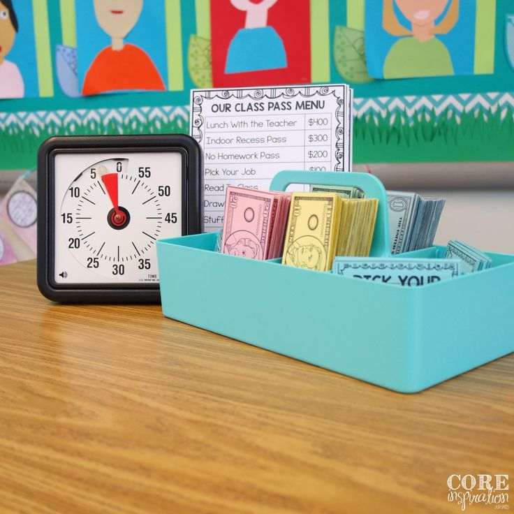 Core Inspiration Classroom Economy System Timer