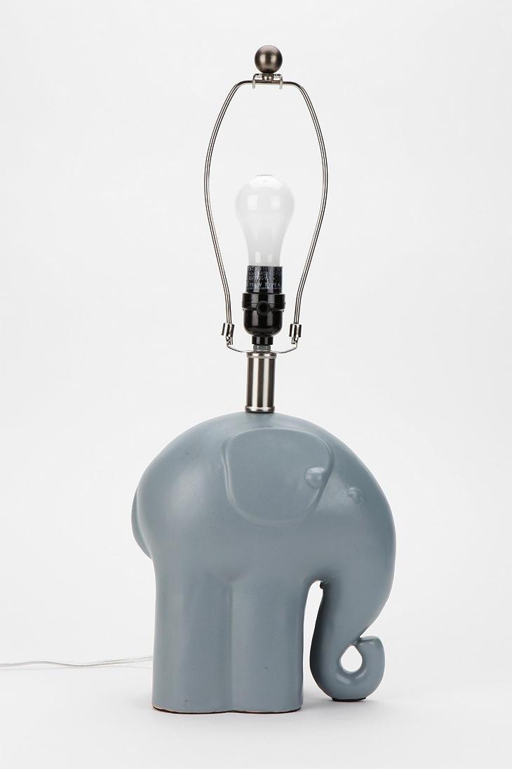 Elephant Lamp Base | Elephant lamp base