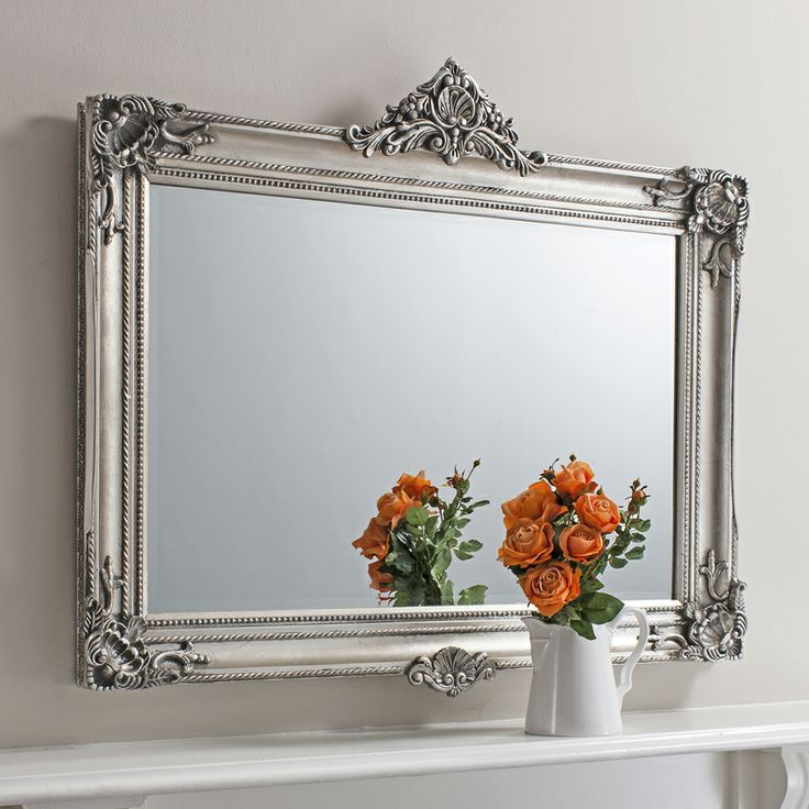 21 best images about mirror mirror on the wall which for Large silver decorative mirrors