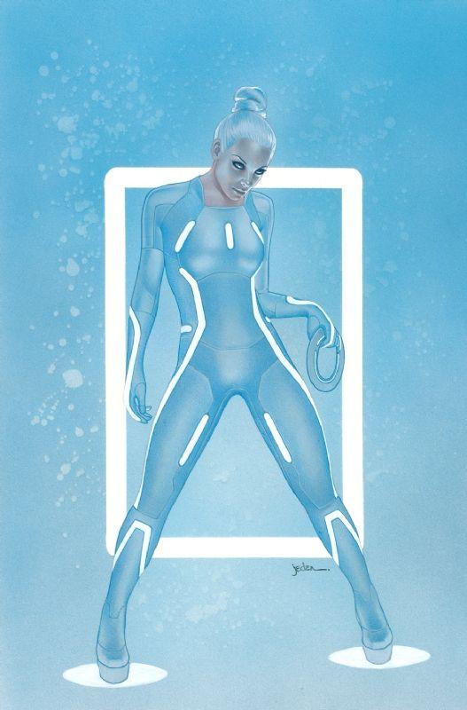 Jason Eden's Tron Comic Art