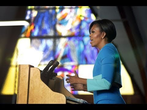 "Speaking to young women leaders in South Africa, First Lady Michelle Obama overcame an historic setting, big crowd and outsized expectations by hitting the right notes. Part of The Eloquent Woman's ""Famous Speech Friday"" series."