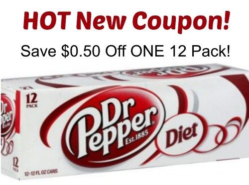 HOT NEW RARE $0.50/1 Diet  Dr Pepper coupon! Check out the deals at Walmart and Walgreens.  Click the link below to get all of the details ► http://www.thecouponingcouple.com/new-0-501-diet-dr-pepper-coupon-store-deals/  #Coupons #Couponing #CouponCommunity  Visit us at http://www.thecouponingcouple.com for more great posts!