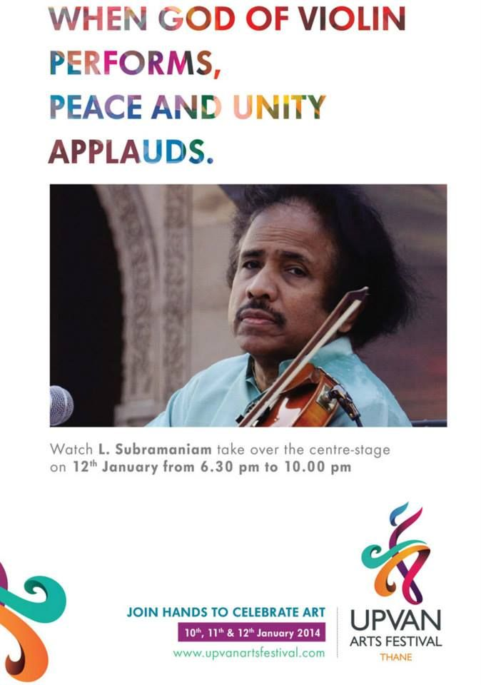 Live Performance by Dr. L. SUBRAMANIAM View More:- http://www.upvanartsfestival.com/uaf-schedule-Day3.html
