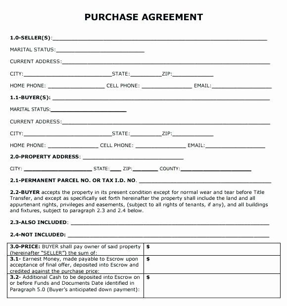 Simple Business Contract Template New Simple Land Contract Form Fresh Free Lease Agreement Contract Template Real Estate Contract Purchase Agreement