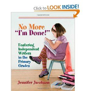Disregarding the false notion that writing instruction in the primary grades needs to be mostly teacher directed, Jennifer Jacobson shows teachers how to develop a primary writer's workshop that helps nurture independent, engaged writers