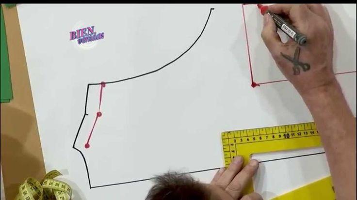 MOLDE DE UN VESTIDO MUSCULOSA  Hermenegildo Zampar - Bienvenidas TV en HD - Explica el MOLDE DE UN VESTIDO MUSCULOSA
